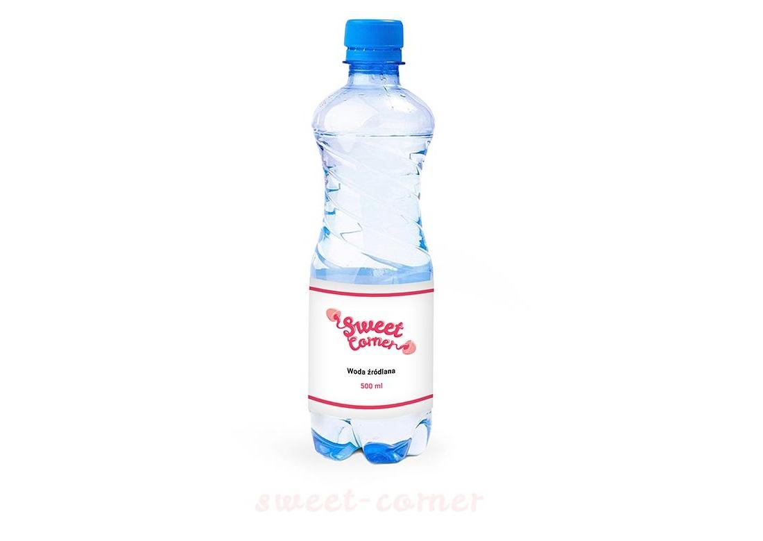 Zdrowa woda i inne napoje reklamowe